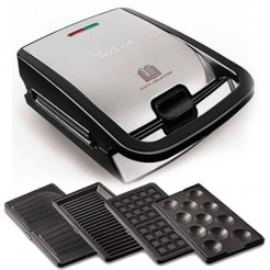 Tefal SW854D Snack Collection Multisnack Contactgrill